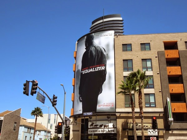 Equalizer movie remake billboard