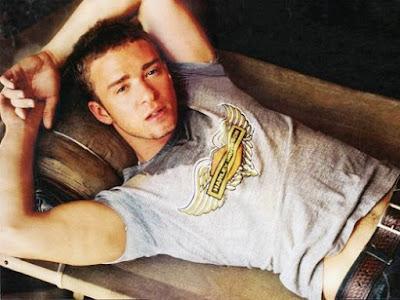 Foto de Justin Timberlake cuando era joven