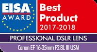 EISA Professional DSLR Lens 2017-2018