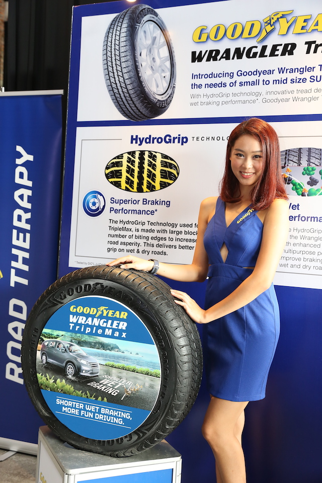 Goodyear Wrangler TripleMax Launched In Malaysia