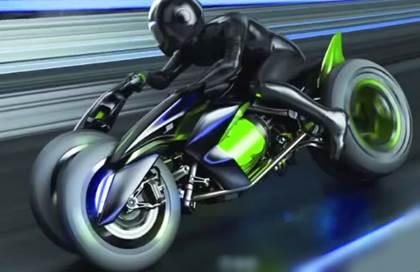 Gambar motor canggih milik kawasaki