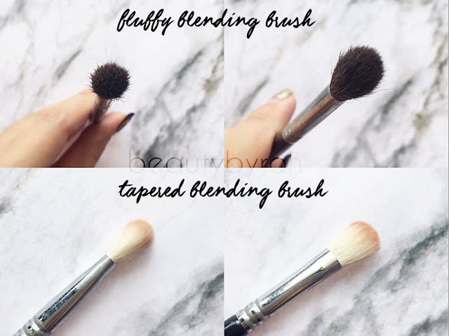 The 3 Essential Eyeshadow Brushes That You Need - blending brushes