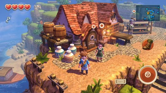 Screenshot Game Oceanhorn