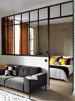 plasterboard partition wall room divider design ideas 2019