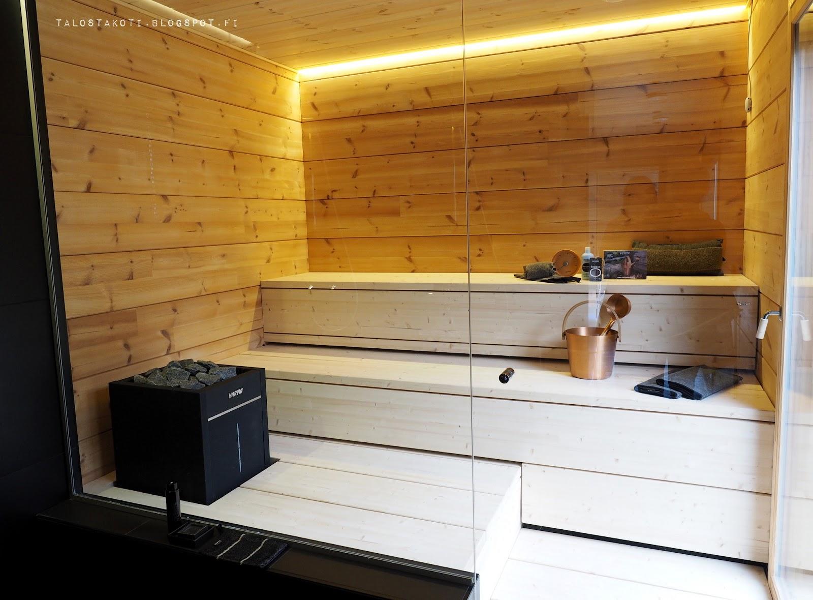 Seinäjoen asuntomessut Honka Markki 19 sauna