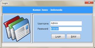 Download Aplikasi Kamus Bahasa Jawa - Delphi 2010