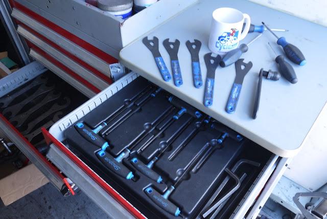 Bicycle Tool Storage