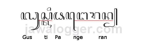 Aksara Murda Dalam Penulisan Bahasa Jawa