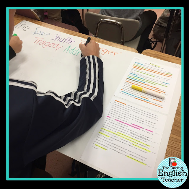Engage students in rigorous rhetorical analysis with a collaborative poster project.