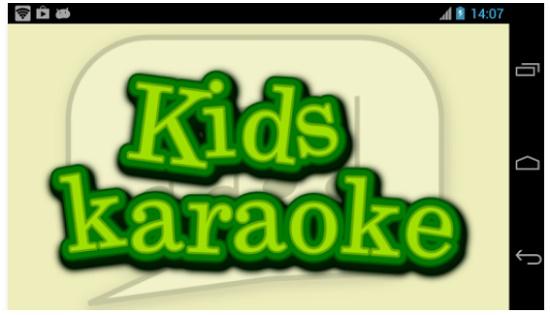 aplikasi karaoke android untuk anak kecil