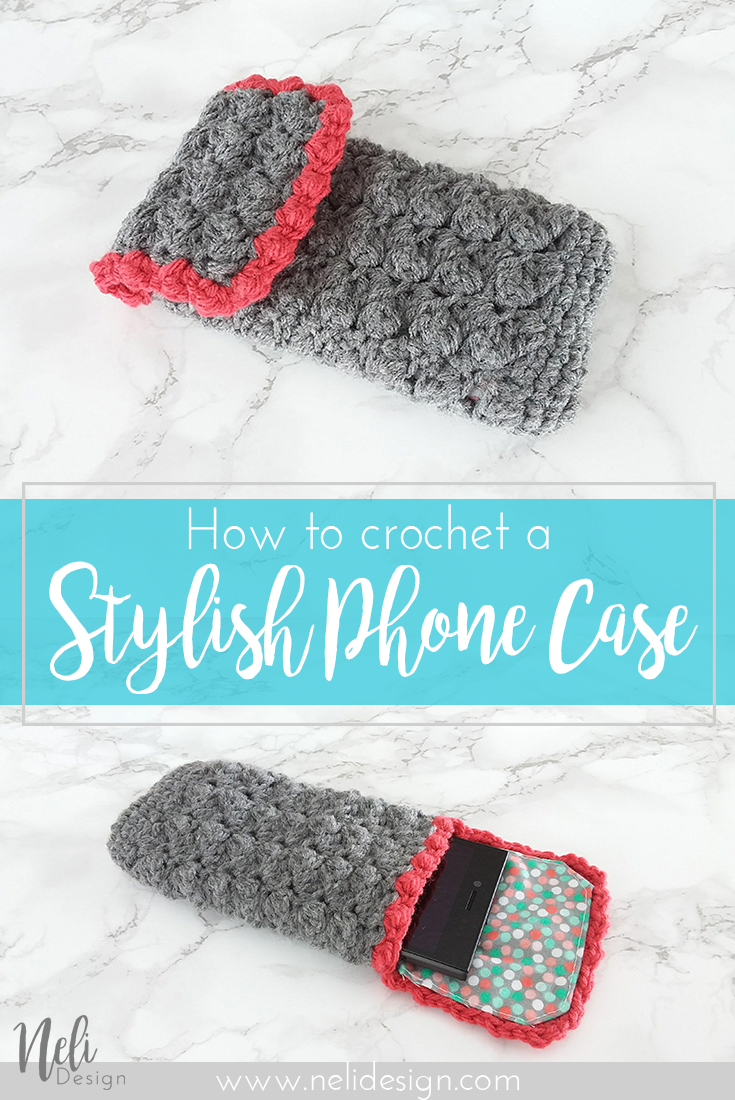 Free Crochet Pattern | Phone case | Phone cover | Phone Cosy | yarn | DIY |