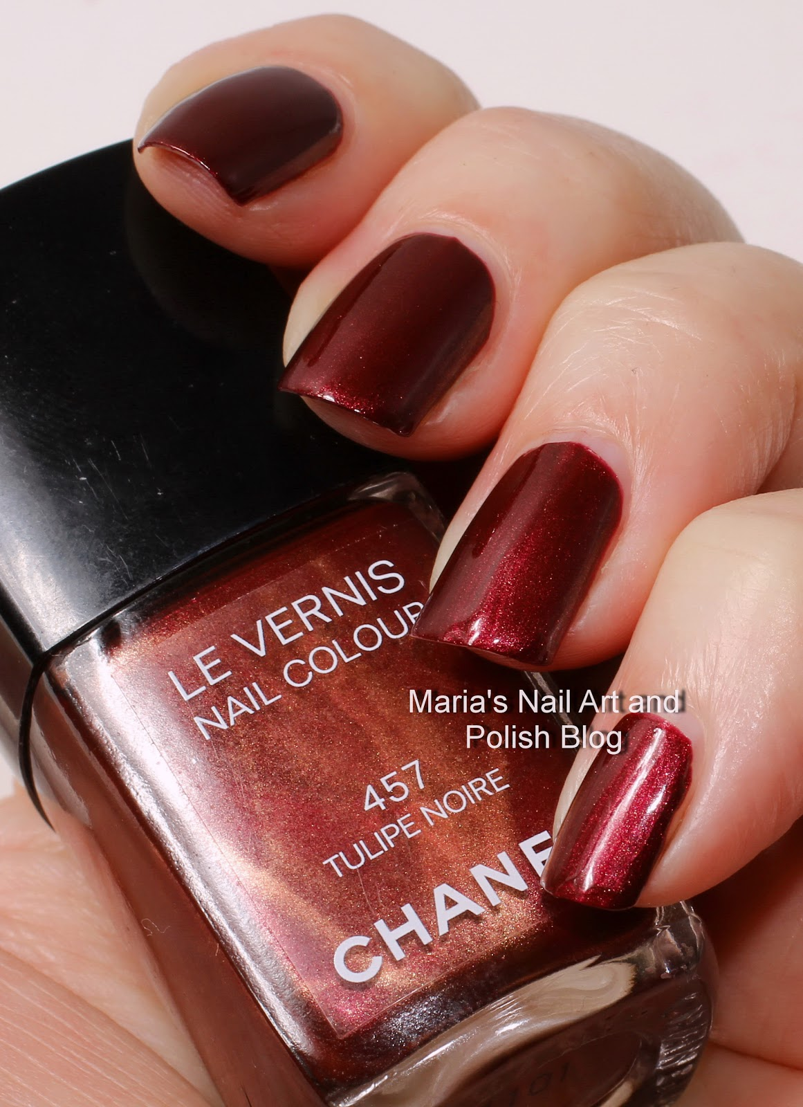Marias Nail Art and Polish Blog: Chanel Tulipe Noire 457 ...