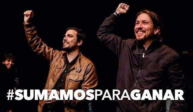 """Pablo Iglesias: """"Me veo construyendo un futuro con Alberto Garzón"""""""