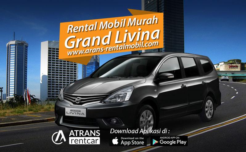 Rental mobil murah Nissan Grand Livina Jakarta selatan