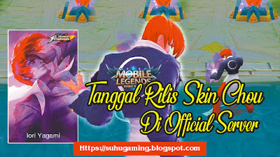 Skin Chou (Iori Yagami) KOF The King Of Figher Mobile Legends: Bang bang