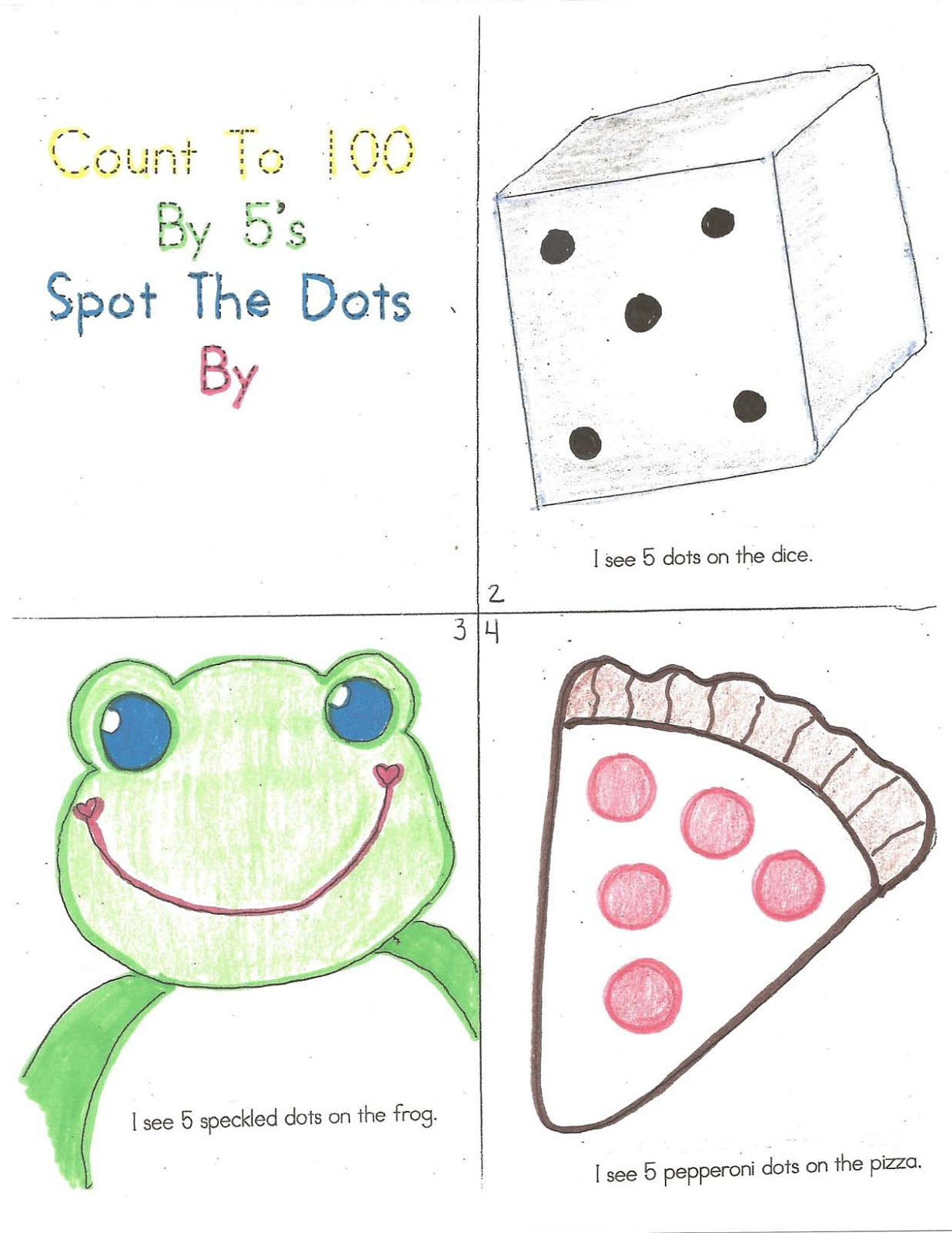 Classroom Freebies 100 Day Count By 5 S Booklet