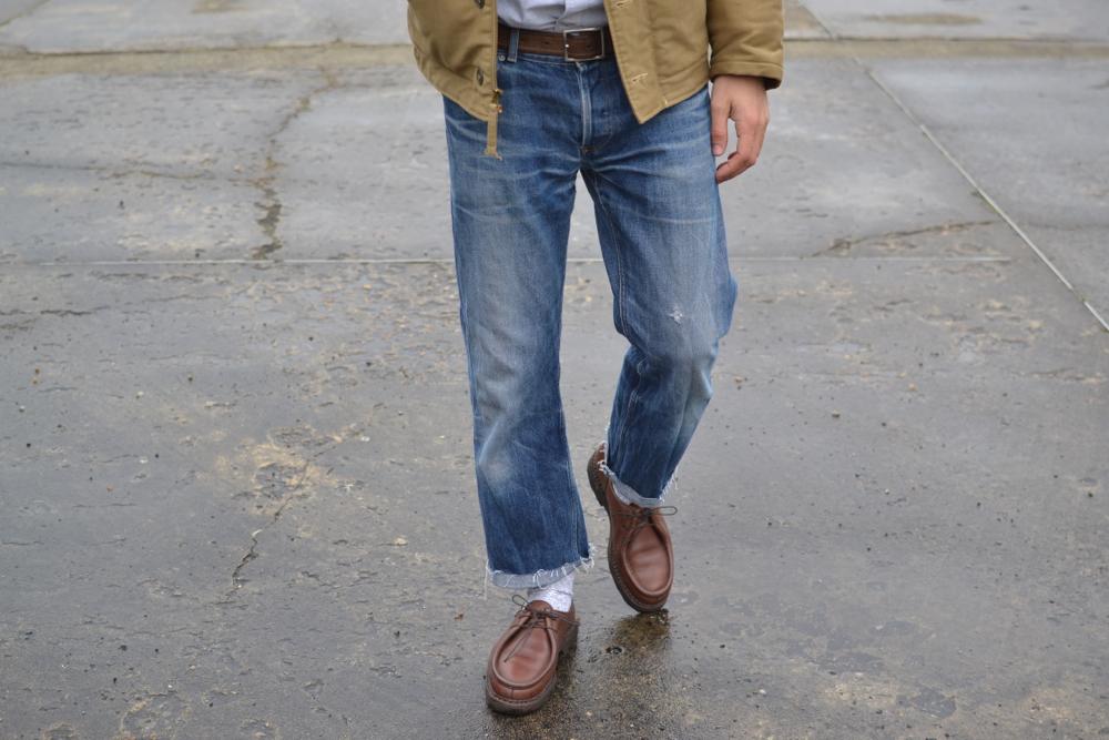 A.P.C Hipster jeans - vintage washed Butler