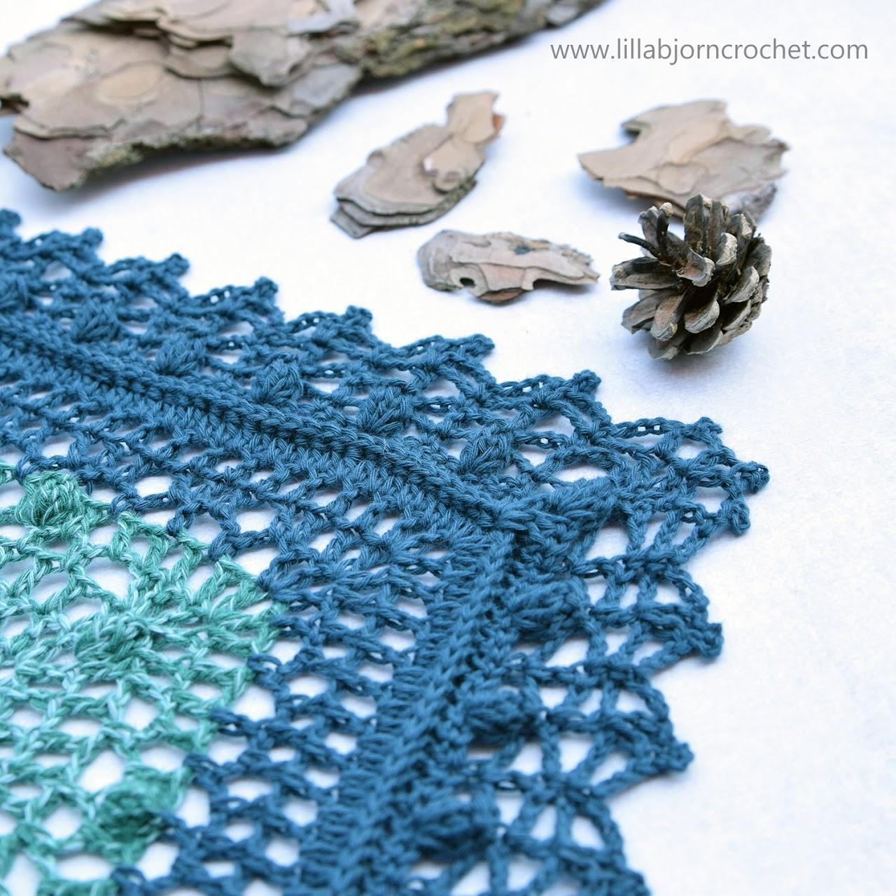 Grinda Shawl MAL - free crochet pattern by www.lillabjorncrochet.com