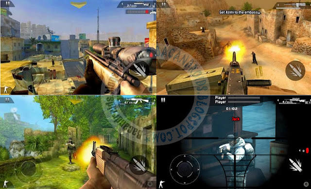 Download Game Modern Combat 2 Black Pegasus Terbaru Apk + obb For Android v1.2.7