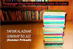Perjuangan Buya Hamka Menulis Tafsir Al-Azhar