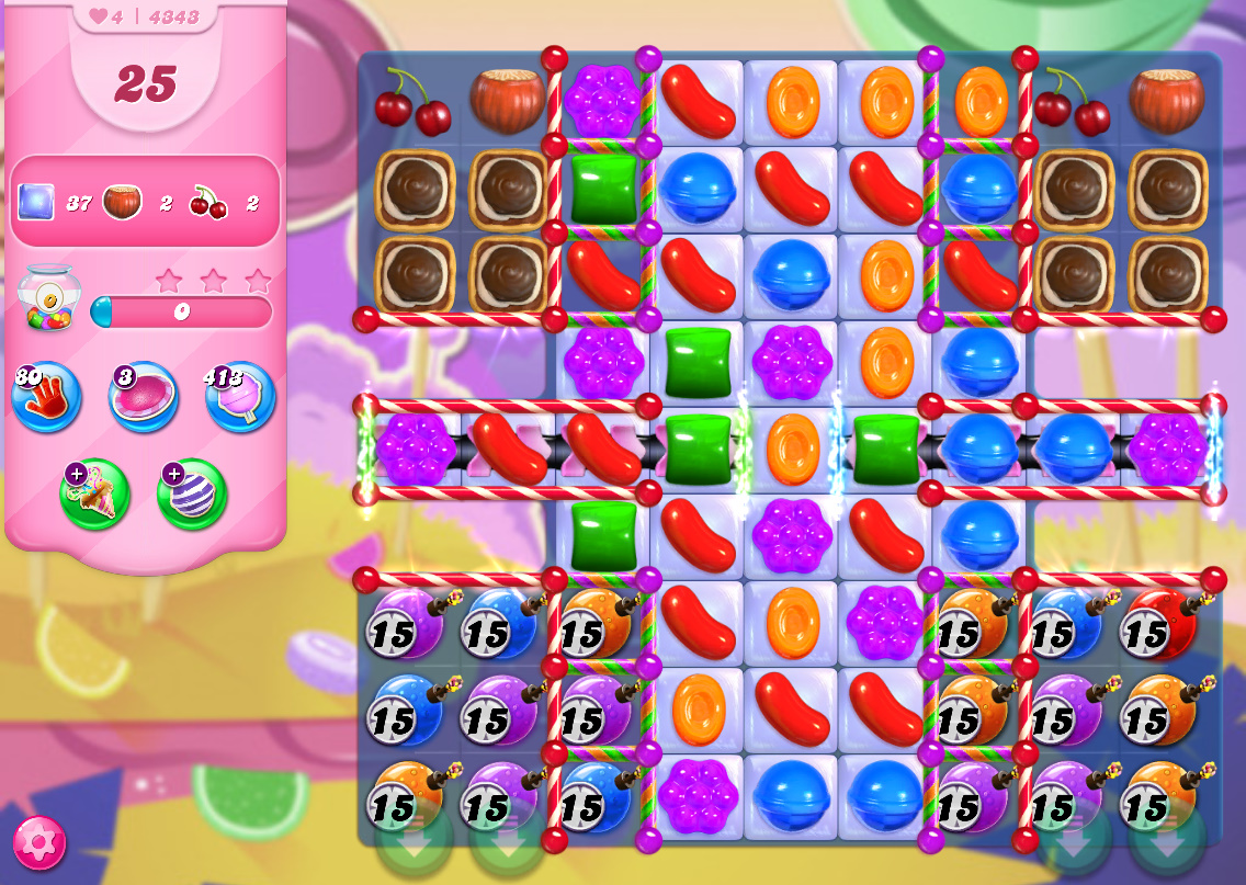 Candy Crush Saga level 4343
