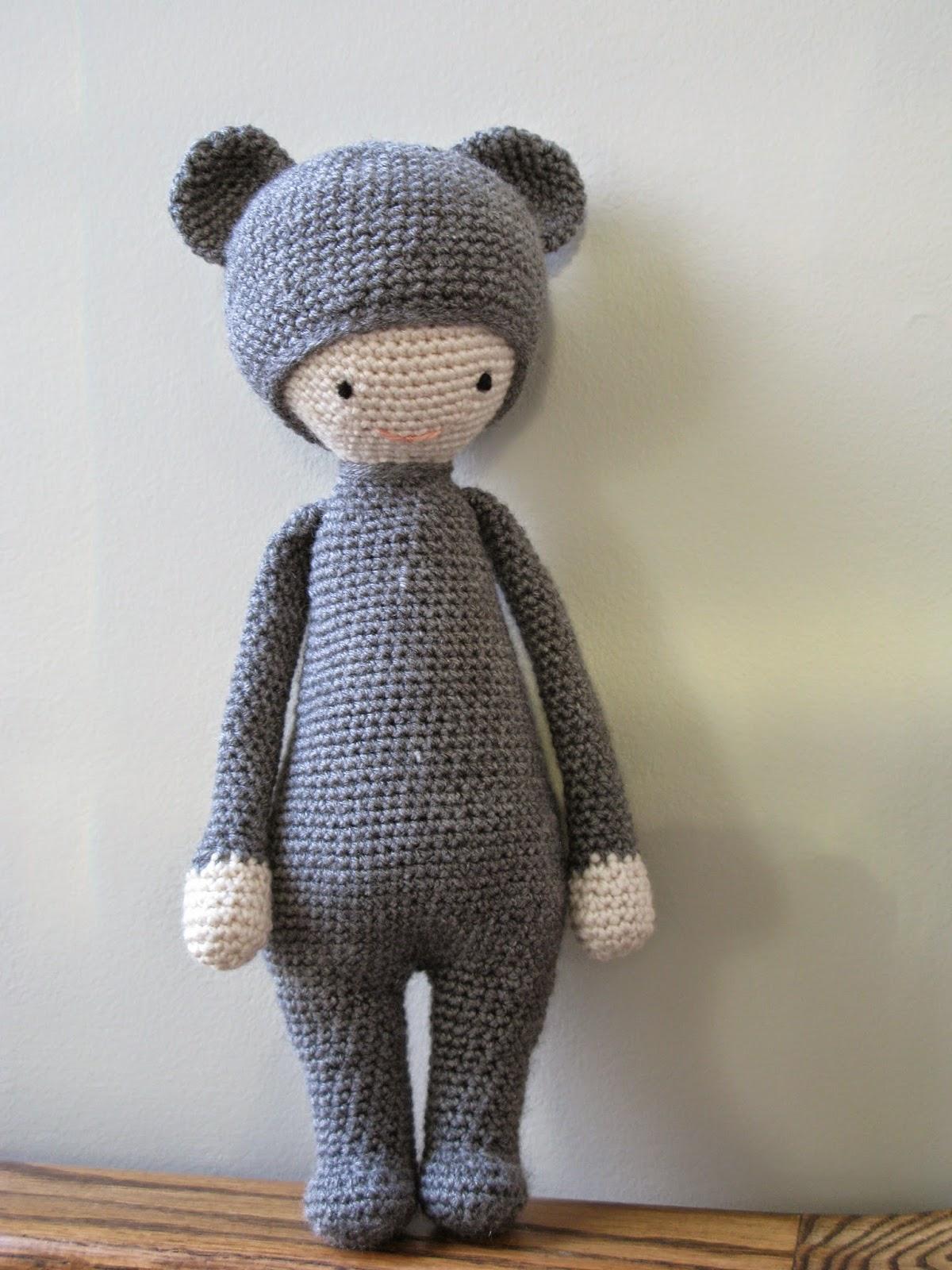 Free Amigurumi Doll Patterns In English : Amigurumi Lalylala Bear Boo- Free Pattern (Similar works ...