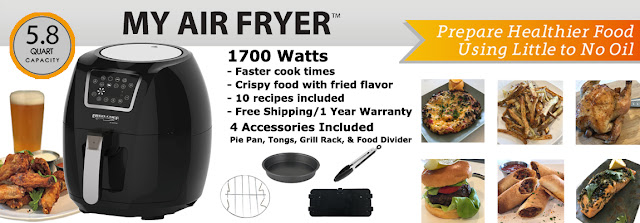 Ergo Chef My Air Fryer Giveaway