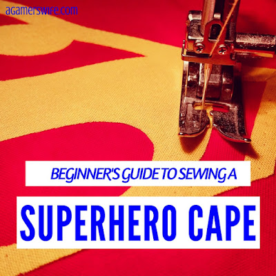 A Sewing Beginner's Guide to Making a Superman and Batman Cape for Toddlers