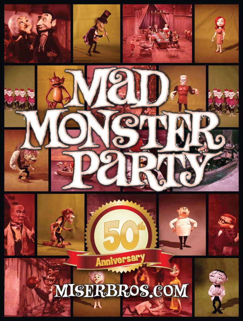 It's the 50th Anniversary of Rankin/Bass' Mad Monster Party!