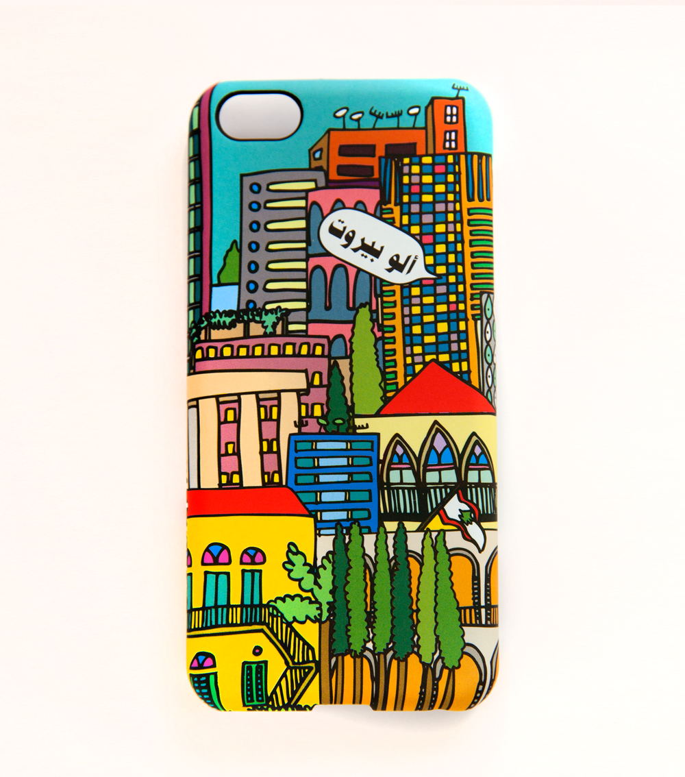 Alo Beirut iPhone cover by Luanatic