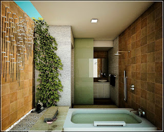 Inspiration Design Cool Contemporary Bathroom