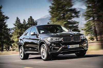 Kereta SUV BMW X6 2016