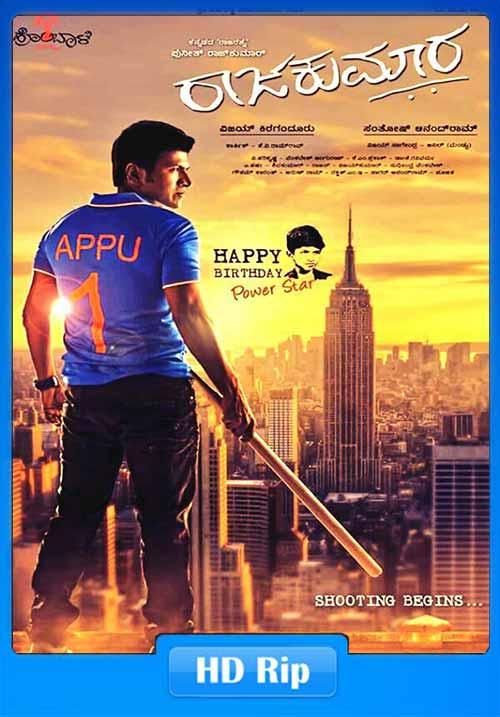 Daring Raajakumara 2017 Hindi Dubbed 480p WEBRip 350MB x264 Poster