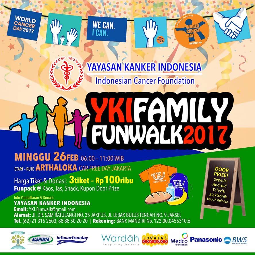 YKI Family Funwalk • 2017
