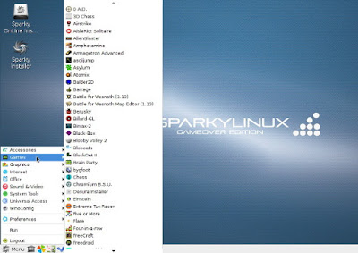 SparkyLinux – Game Over Edition