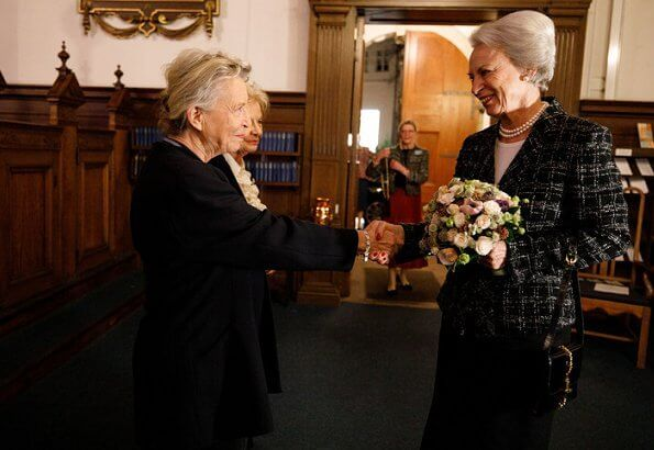 Princess Benedikte is patron of both the Danish Osteoporosis Society and the Saint Ann Girls' Choir
