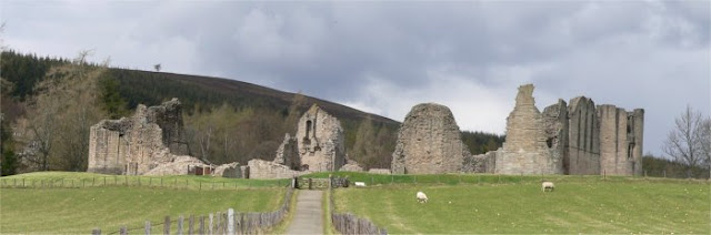 Kildrummy castle, scottish history, earl of ross, elizabeth de burgh