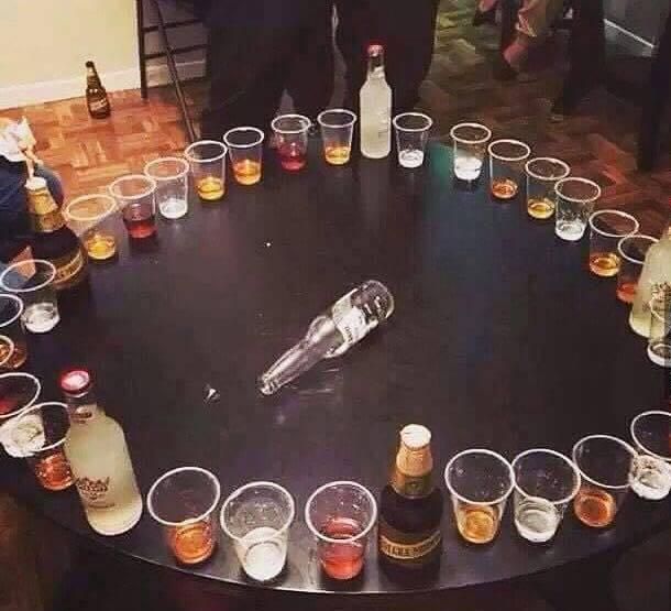 Juegos De Mesa Con Alcohol Para Beber La Botella Tragos Y Copas