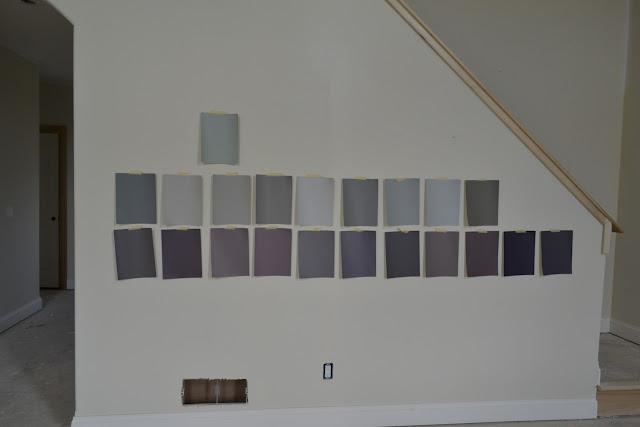 Lighting Basement Washroom Stairs: De Jong Dream House: Finalized Paint Colors