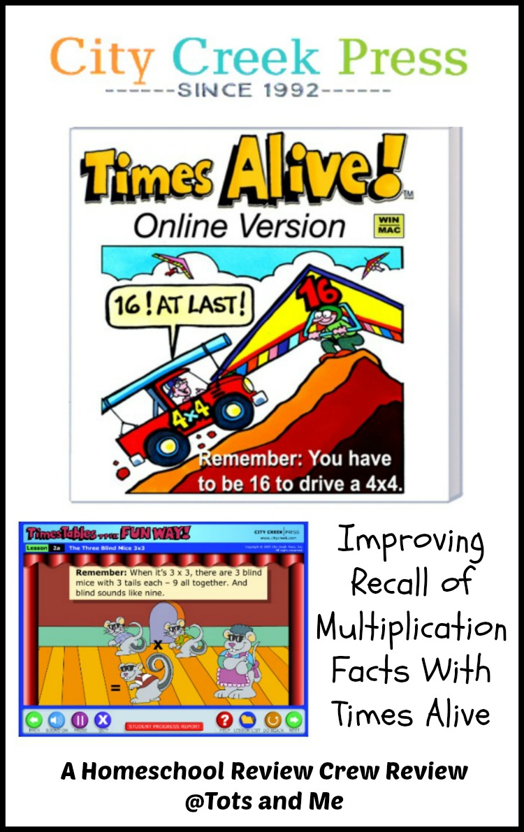 Tots and me growing up together improving recall of times alive is a fun online program that teaches children to recall their multiplication facts through the use of animated stories and songs gamestrikefo Choice Image