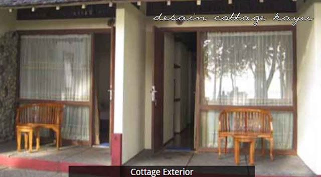 desain cottage kayu