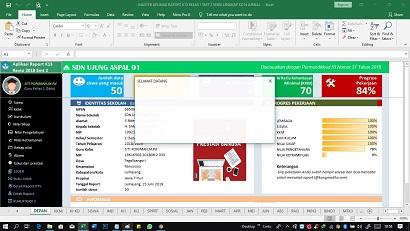 Aplikasi Raport Kurikulum 2013 Revisi 2018 Kelas 4 Semester 1 Tapel 2019-2020