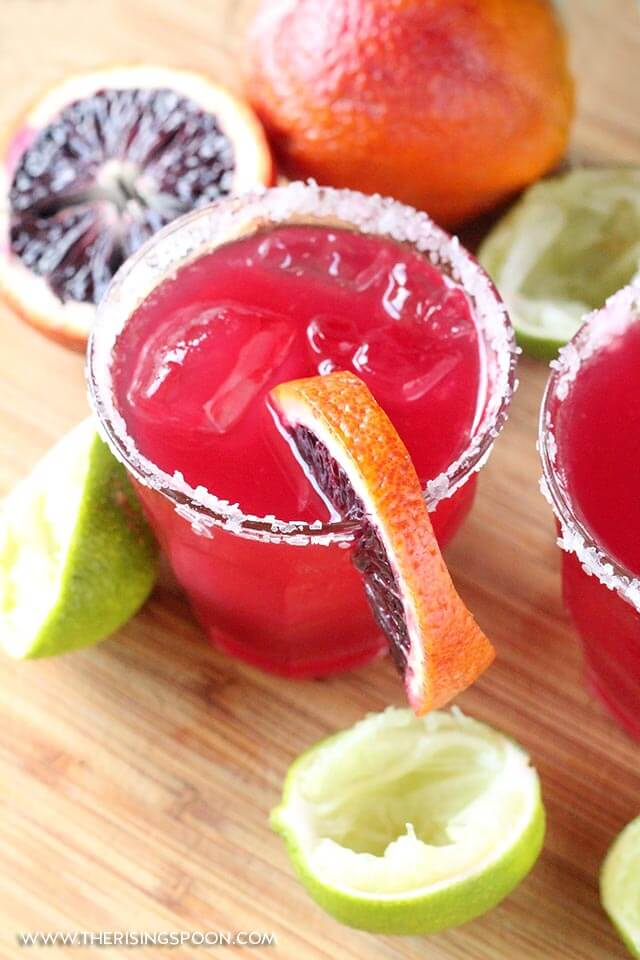 Blood Orange Margaritas Recipe (Quick, Easy, Gorgeous & Goes Down Easy)