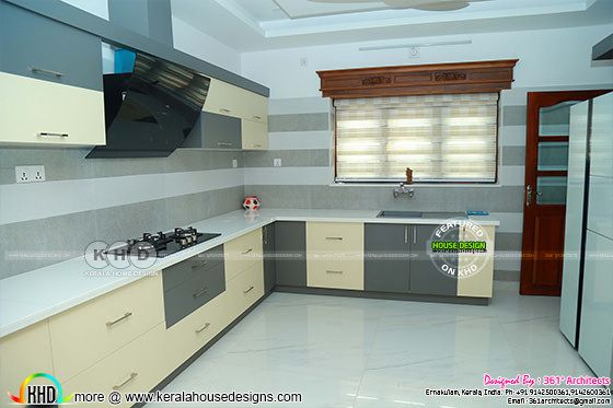 Kerala kitchen interior modern style