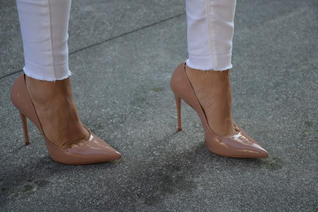 scarpe decollete color nude come abbinare un paio di scarpe décolleté nude scarpe schutz outfit settembre 2016 outfit autunnali mariafelicia magno fashion blogger colorblock by felym web influencer italiani blogger italiane di moda fashion blogger italiane