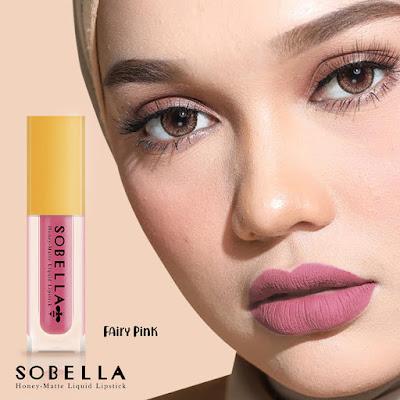 Sobella Lipmatte code Fairy Pink dan Sugar Plum