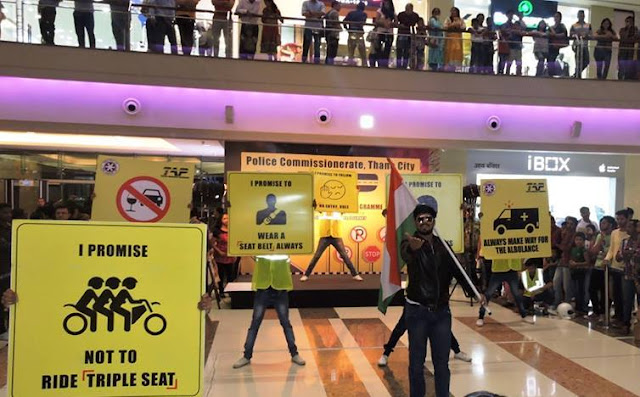 Traffic awareness program held at KORUM Mall