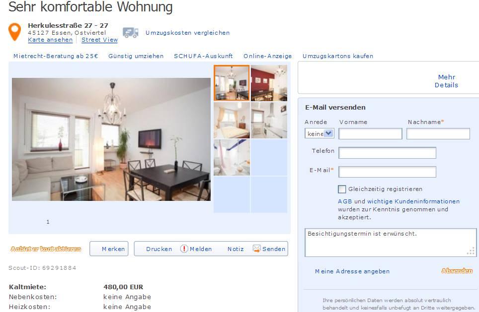 kleindagmarhotmailde  Gegen Wohnungsbetrug against rental scammers