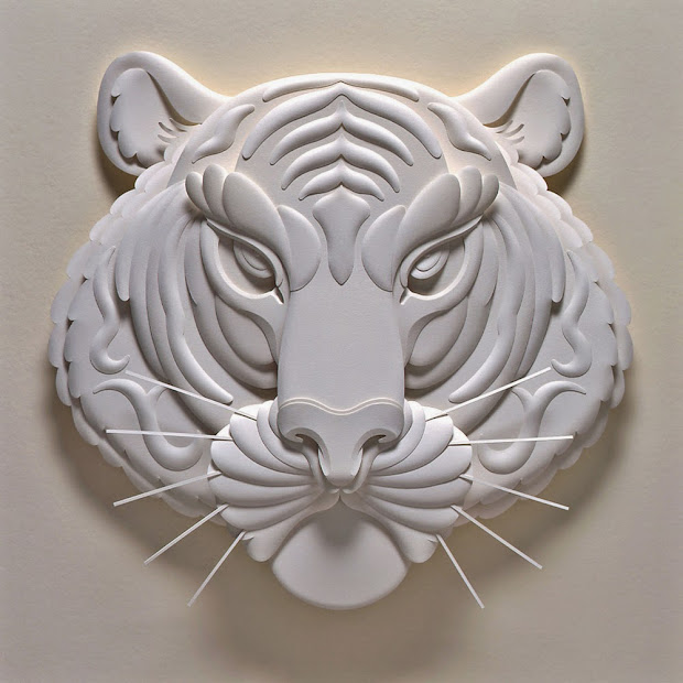 3D Paper Art Sculptures