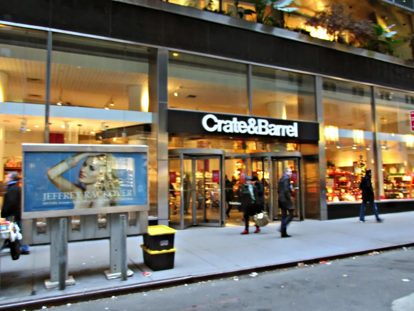 midtown blogger manhattan valley follies crate and barrel midtown east. Black Bedroom Furniture Sets. Home Design Ideas
